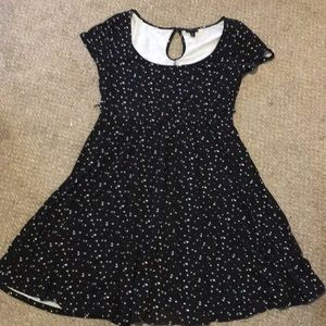 Torrid Sz 1 - skater dress keyhole back